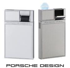 Porsche Design P3632/03 silber Feuerzeug mit Flat-Flame & einzigartigem Design