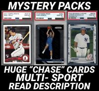 MYSTERY PACK- Mike Trout Topps Update PSA 10, Luka Doncic PSA 10 Prizm RC Chase