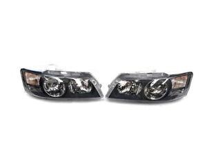 Genuine Holden Left & Right Headlamps Black for Caprice WK WL HSV Grange GMH NOS