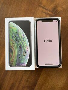 Apple iPhone XS - 256GB - Space Gray (Unlocked) VERIZON - Excellent Condition!
