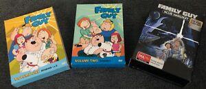 Family Guy  Seasons 1, 2,3  & Blue Harvest DVD Box Set Bundle FREE POST!