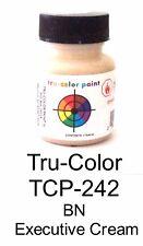 Tru-Color TCP-242 BN Burlington Northern Executive Creme 1 oz Paint