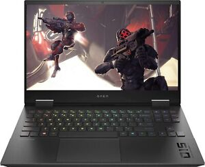 """HP Omen 15 15z-en100 Gaming Laptop PC 15.6"""" Ryzen 5600h 16GB 512GB 6GB RTX 3060"""