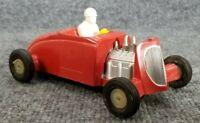 Vintage SANDERS Plastic Friction 1932 Flathead V8 Ford Hot Rod Roadster Toy Car