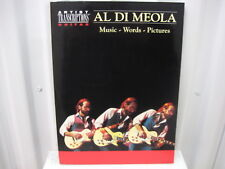 Al Di Meola Music Words Pictures Artist Transcriptions Guitar Music Song Book