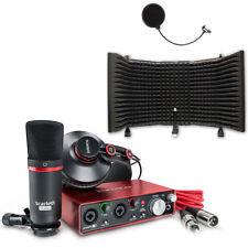 Focusrite Scarlett 2i2 USB AudioInterface Studio Pack Bundle w/ Protools