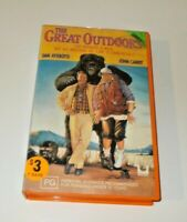The Great Outdoors VHS Pal Original Ex-rental in Orange CIC case