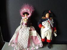 NAPOLEON & JOSEPHINE poupées par PEGGY NISBET