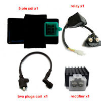 Ignition Coil CDI Regulator Rectifier Relay For 50 70 90 110 125cc Dirt Pit Bike