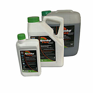 ROUNDUP POWERFLEX 480g 1-5-15 Liter Unkrautvernichter Konzentrat SCHNELLVERSAND