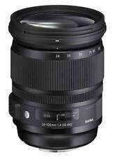Sigma Kameraobjektive für Canon mit Autofokus und manuellem Fokus