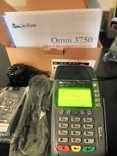 NEW VERIFONE OMNI 3750 DUAL COM TERMINAL 4MG MEMORY DIAL UP AND INTERNET