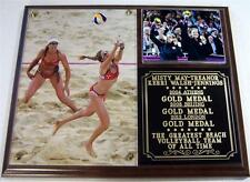 Misty May Treanor-Kerri Walsh Jennings London 2012 Olympics Photo Plaque Gold