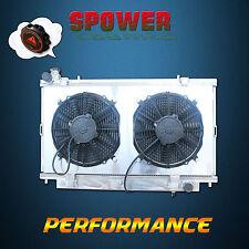 52MM Aluminum Radiator + Fan Shroud For Holden Commodore VE V8 6.0L 2006-2013