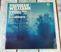 Hallé Orchestra vinyl LP  record Vaughan Williams: Symphony No. 8