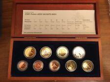 EURO DIVISIONALE SEDE VACANTE 2005 FONDO SPECCHIO VATICANO PROOF PROVA VATIKAN