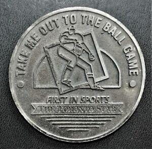 Toronto Star - Blue Jays 1994 Home Schedule Medal, 64mm