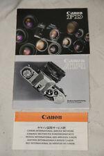 CANON AV-1 (Mode d'emploi) Deutsches Handbuch