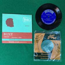 Disco Vinile 45 Giri 7'' MMS Orpheus , BIZET - CARMEN Overture e Suite W.GOEHR