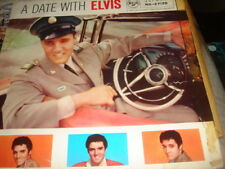 ELVIS PRESLEY  A DATE WITH ELVIS  1959 RD-27128 RCA VINYL LP RECORD VG