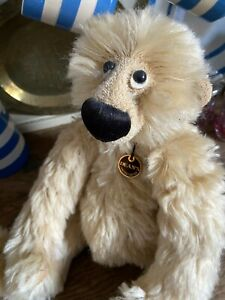 Deans Collectors Bear limited edition by Jill Baxter 'Mr Chuckles' rare