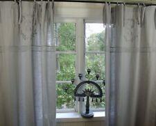 Vorhang CRYSTAL GRAU Gardine 120x240 cm 2 Stück LillaBelle Shabby Vintage
