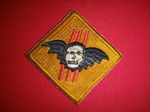 Vietnam War ARVN Special Forces WINGED SKULL Recon Team Beret Patch