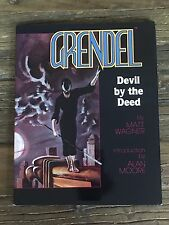 GRENDEL: DEVIL BY THE DEED 1986 Hard Cover Limited Edition Signed/Numbered 575