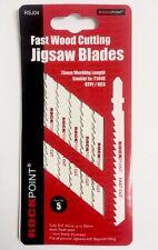 Rock Point Jigsaw Blade Metal Cutting T144D Pack Of 5 -   jig saw