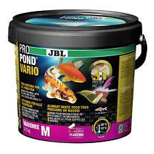 JBL propond Vario M 0,72kg, futtermix (5-20 mm) per tutti Stagno Pesci V. 10-35 cm
