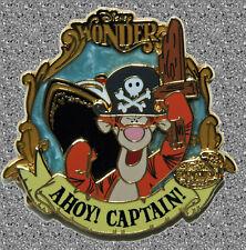 Dcl Tigger Ahoy Captain Pin - Disney Le 500 - Captain's Choice January 2007