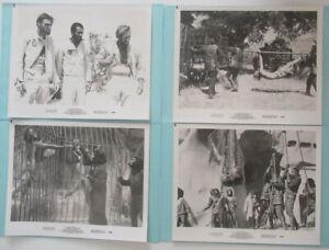 PLANET OF THE APES – 1968. SET OF 4 ORIGINAL LOBBY CARDS. PLUS.