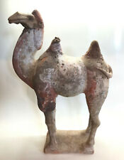 Painted pottery figure of a CAMEL - Tang Dynasty - Original - certificate XIAN