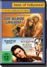 DIE BLAUE LAGUNE 1 + 2 Brooke Shields JOVOVICH Rückkehr zur blauen 2 DVD BoxNeu