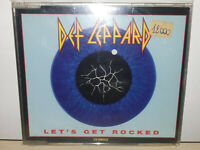 DEF LEPPARD - LET'S GET ROCKED - SINGLE - CD