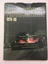 Autocourse 1979-80 Annual Grand Prix Auto Racing Hardcover Book
