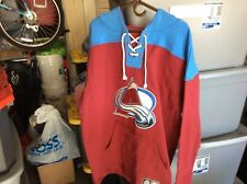 Colorado Avalanche old time hoodies size 3xl