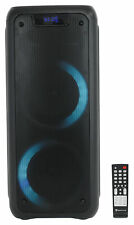 "Rockville Rock 6 Dual 6.5"" alimentado por batería PARTY Home/Altavoz portátil Bluetooth"