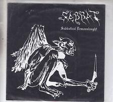 "SABBAT - sabbatical demonslaught 7"" pink vinyl"