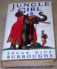 JUNGLE GIRL Edgar Rice Burroughs (author of Tarzan) TRUE 1st EDITION   ERB, Inc