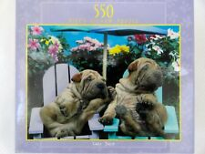 New 550 Jigsaw Puzzle Shar-Pei  Dog Days Ceaco 2003
