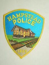 Vintage Hampstead Maryland Police Railroad Railway Iron On Patch