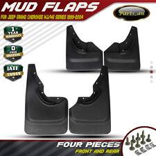 New 4x Splash Guard Mud Flaps Mudflaps for Jeep Grand Cherokee WJ WG 1999-2004