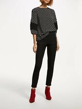 BNWT Finery Ackland Black Trousers Sz 16