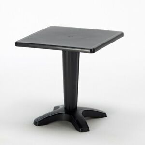 """Zavor Patio Side Table - 27.5"""" x 27.5"""" Square - Easy to Move, Clean and Store"""
