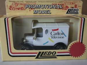 Lledo Promotional LP6359, 1920 Model T Ford Van, Carlton Television