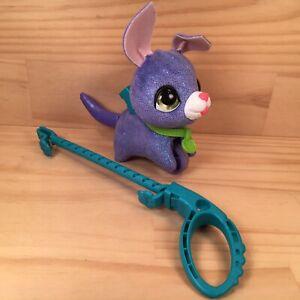 """FUR REAL PETS """"Lil Wags"""" Kids Walkalots Pet Purple Puppy Dog Friend Furreal Toy"""