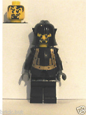 LEGO CASTLE - KNIGHTS KINGDOM I, 1 - EVIL KNIGHT FIGURE + FREE GIFT - FAST - NEW