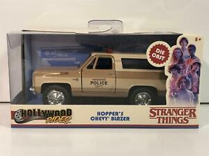 Stranger Things Hoppers Chevy Blazer 1:32 Scale Jada 31114 Boxed