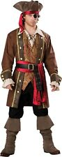 ADULT DELUXE PIRATE COSTUME CAPTAIN SKULLDUGGERY